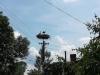 Ritorniamo sui pedali e incontriamo una bellissima cicogna nel suo nido