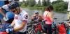 Attraversiamo il Vistola per passare sull'altra riva del fiume