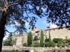 I resti del foro romano dell'antica Tergeste e la cattedrale di San Giusto sulla sommità dell'omonimo colle