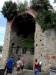 Salendo lungo il pendio del colle di San Giusto si incontra Tor Chucherna, l'unica torre di osservazione rimasta della cinta delle antiche mura romane di Trieste