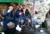 Un te alla menta dopo aver visitato il Castello di Ajlun